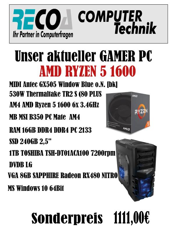 Gamer-PC-AMD-RYZEN-1600