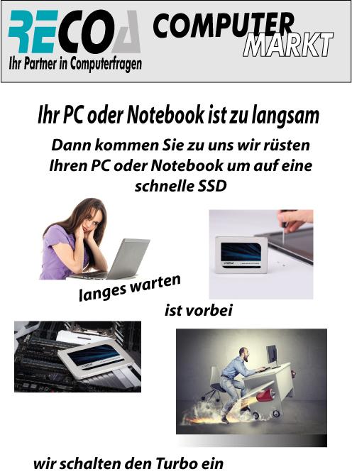 SSD-Umrüsten
